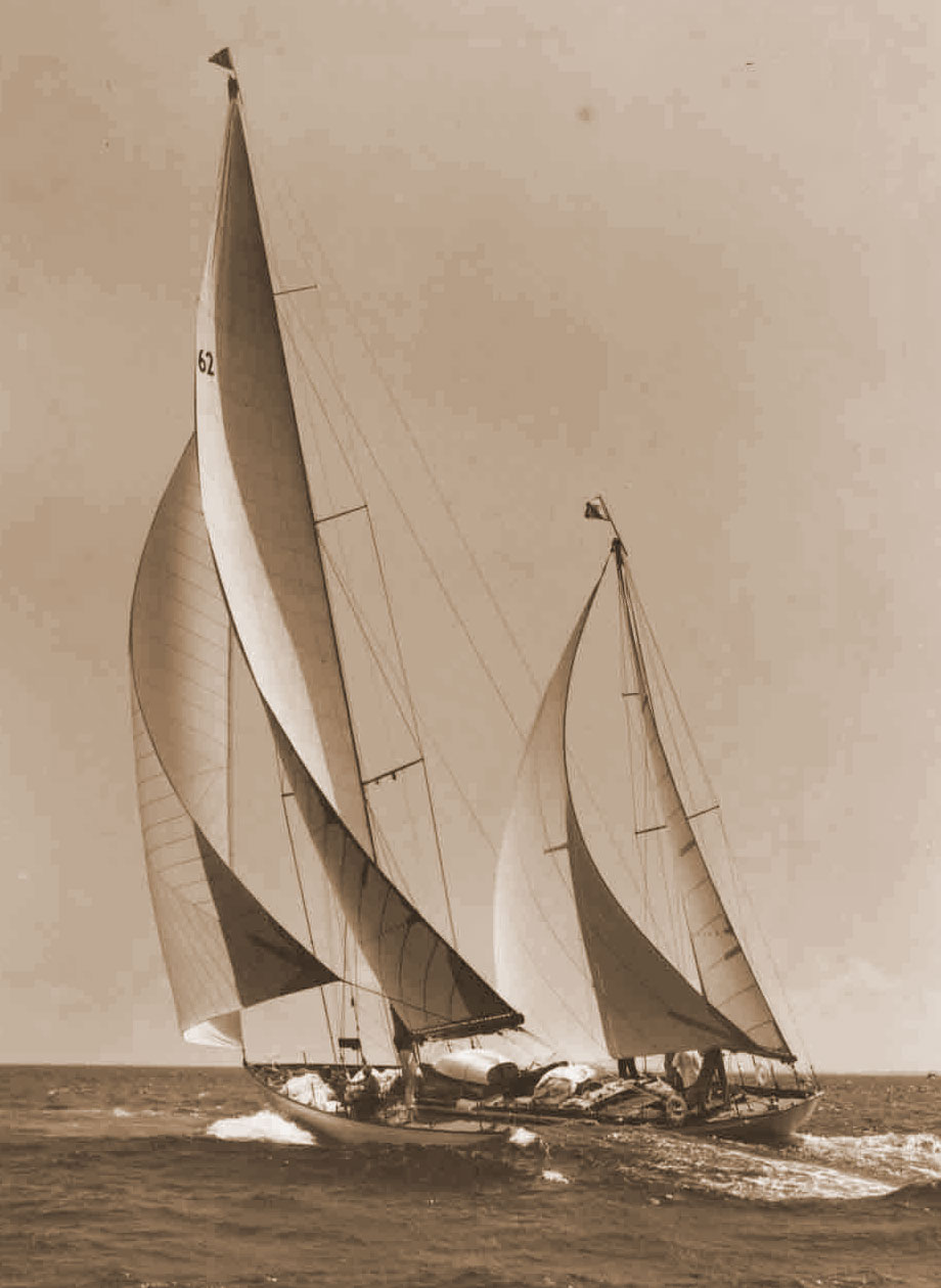 JFK's Manitou under sail